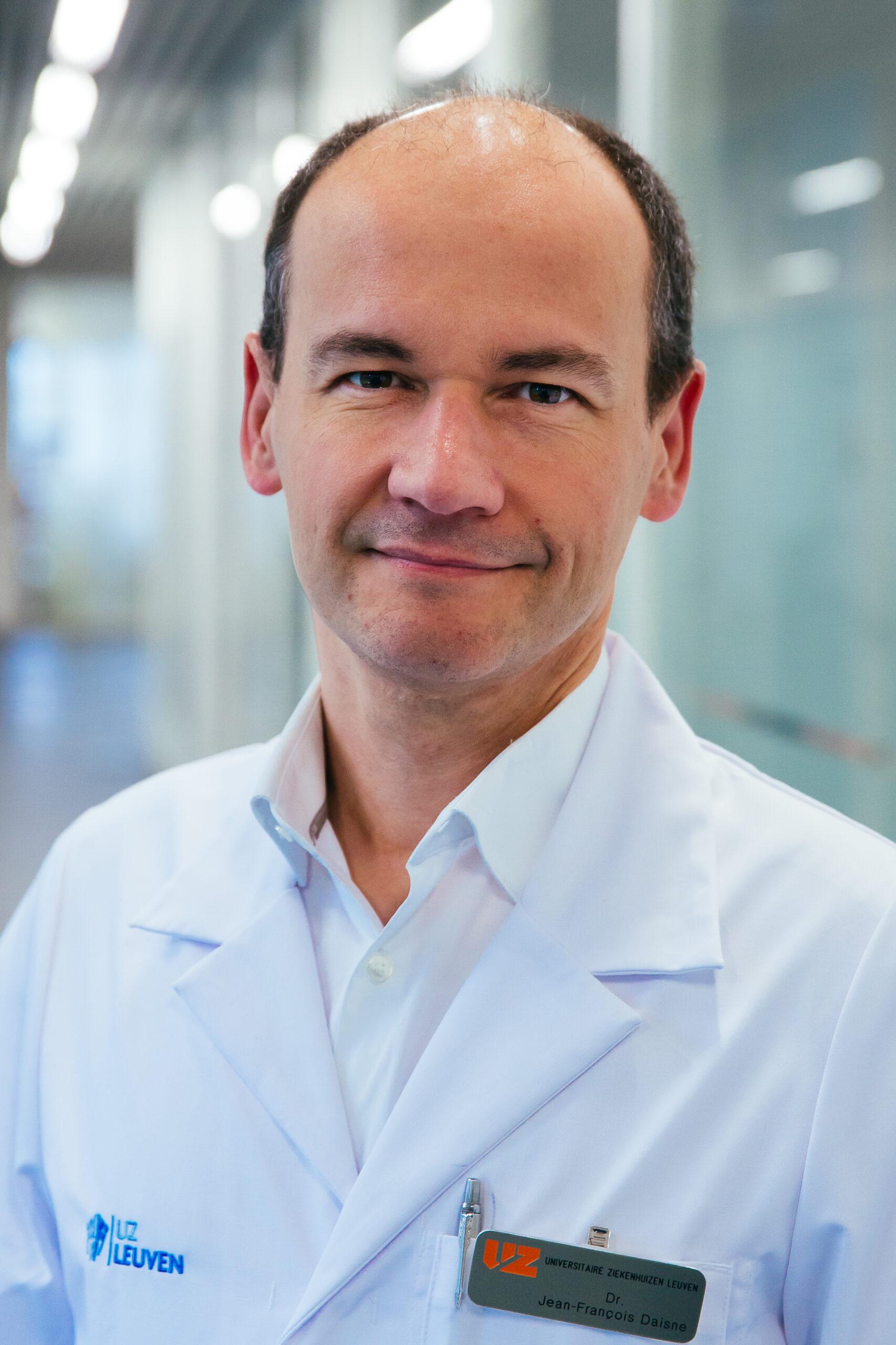 dr. Jean-François Daisne diensthoofd radiotherapie-oncologie in UZ Leuven © UZ Leuven