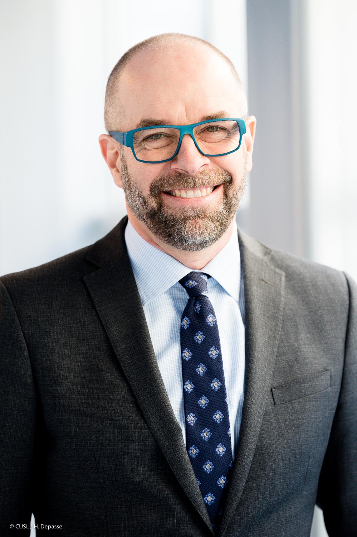 Renaud Mazy, CEO Cliniques universitaires Saint-Luc