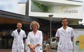 IBD-team: dr. Lieven Pouillon, IBD-verpleegkundige Eveline Hoefkens en dr. Peter Bossuyt
