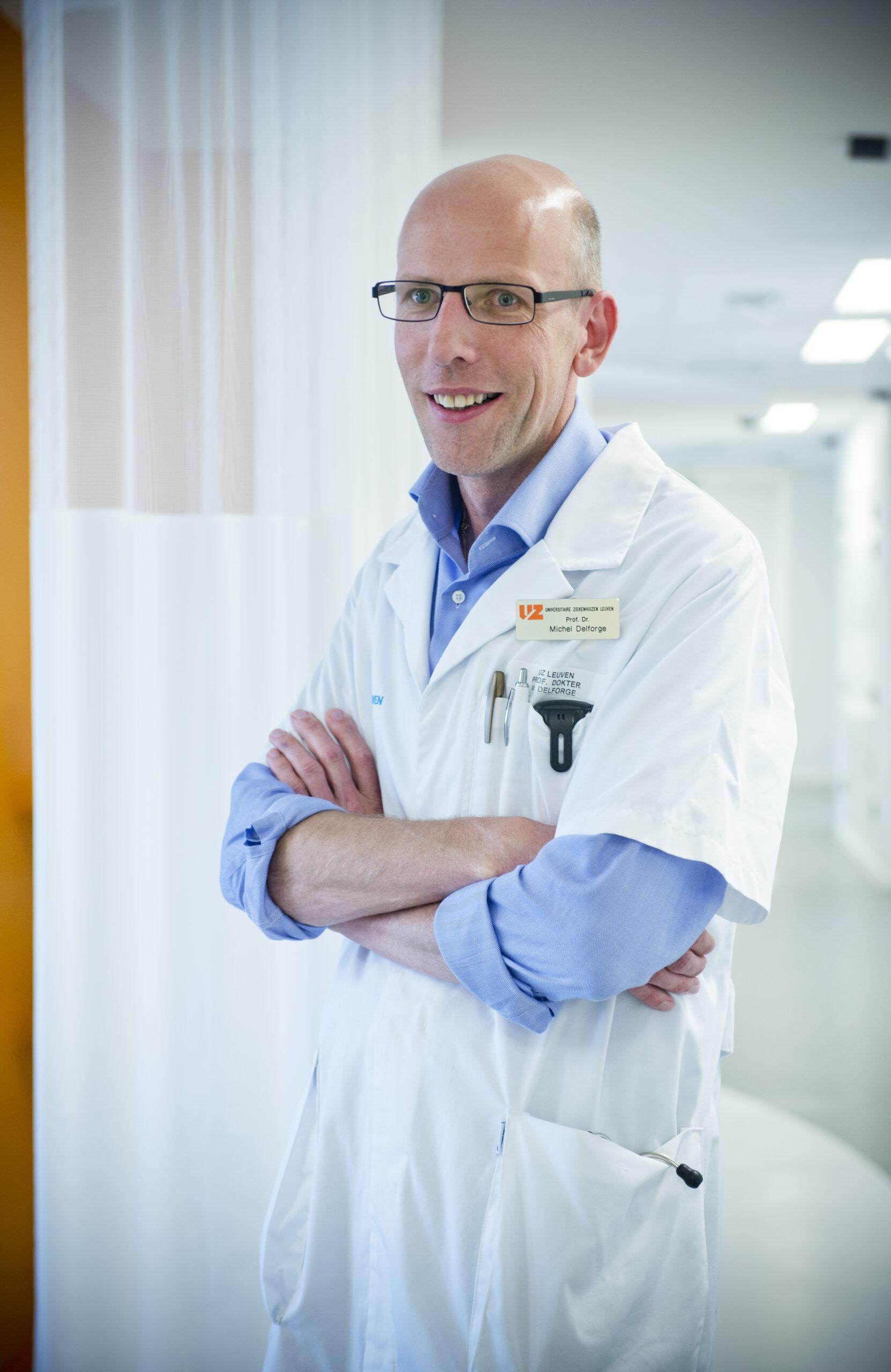 prof. dr. Michel Delforge © UZ Leuven