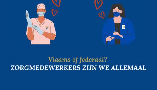 Zorgmedewerkers zijn we allemaal