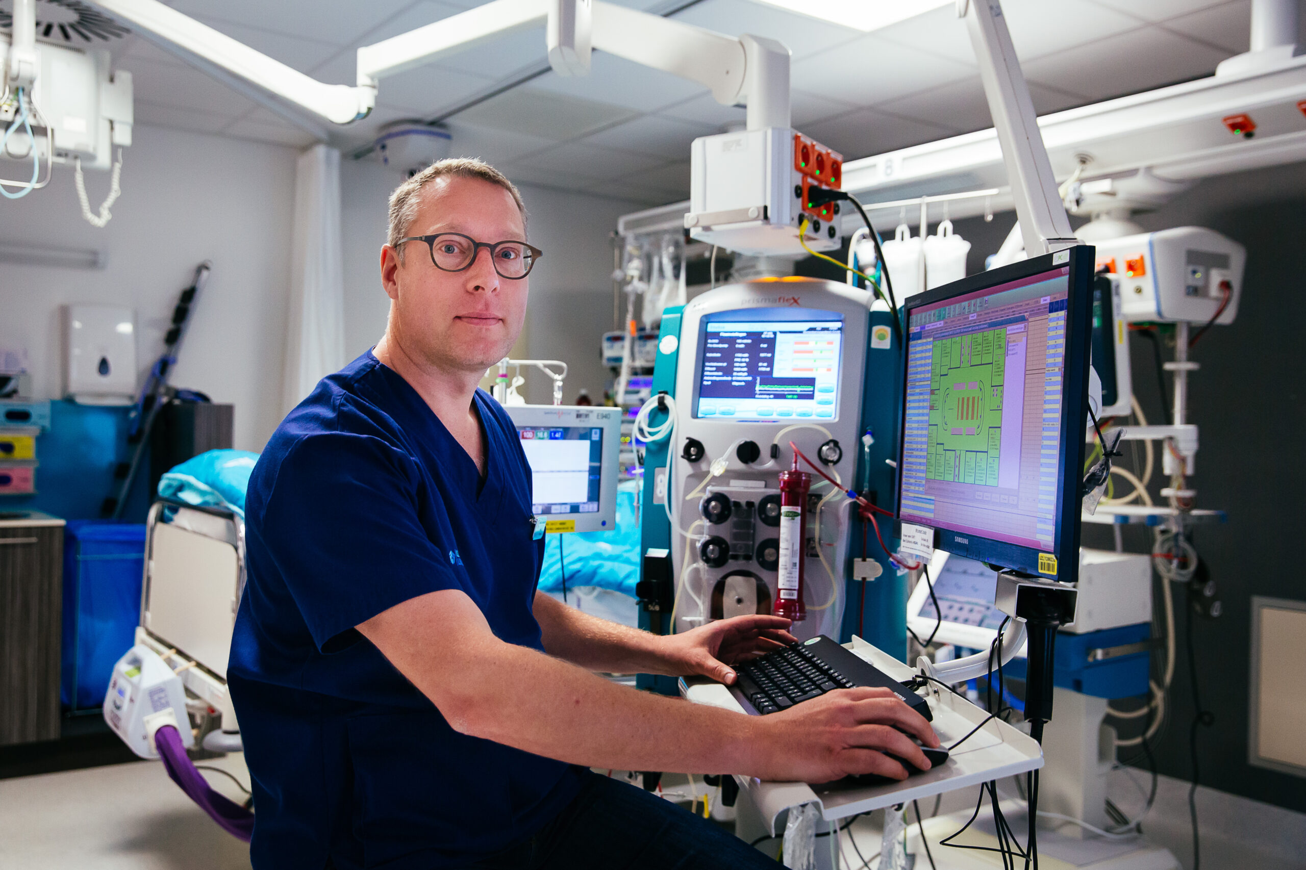 Prof. dr. Joost Wauters - intensivist (© UZ Leuven)