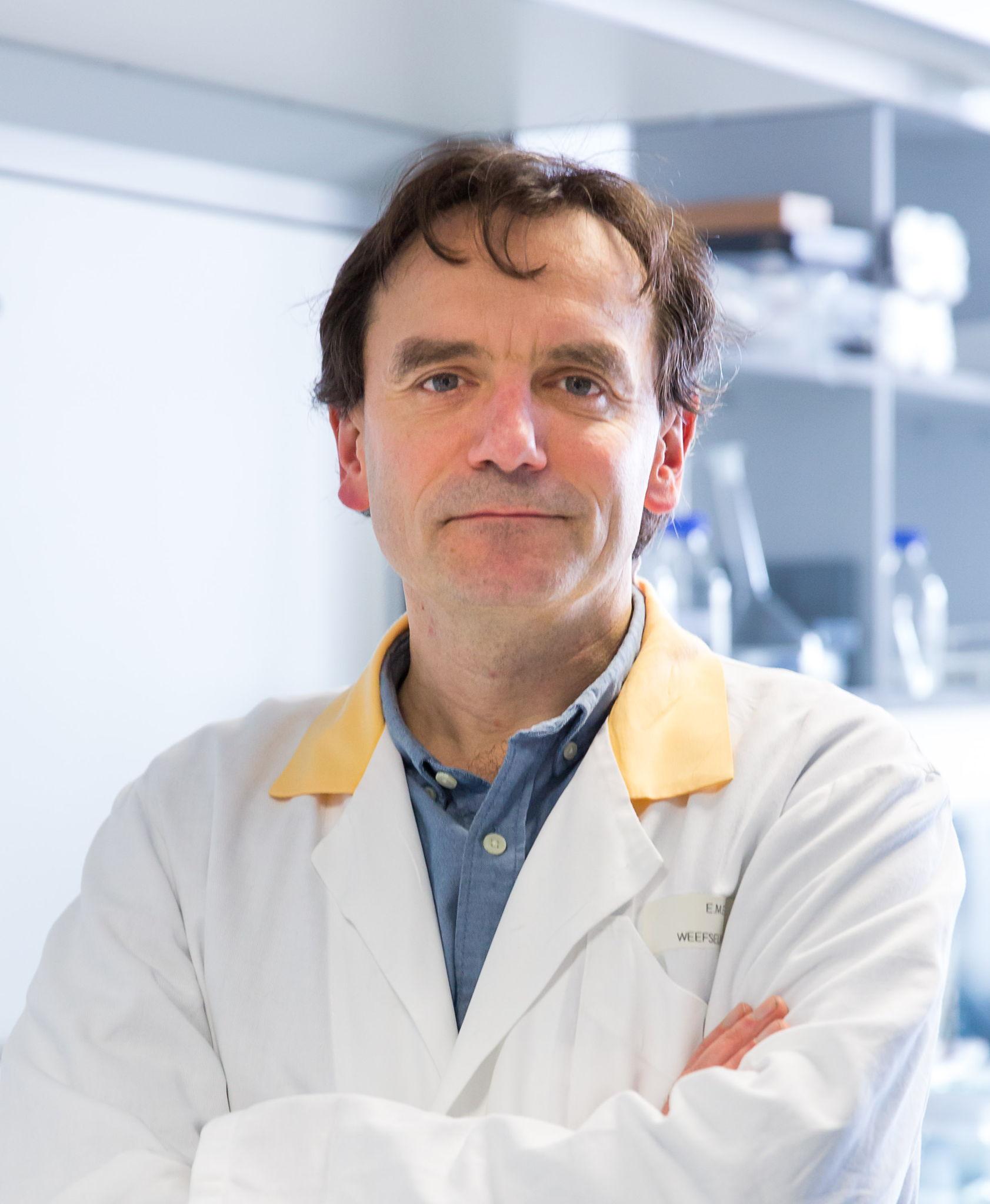 Professor Joris Vermeesch van het centrum menselijke erfelijkheid in UZ Leuven