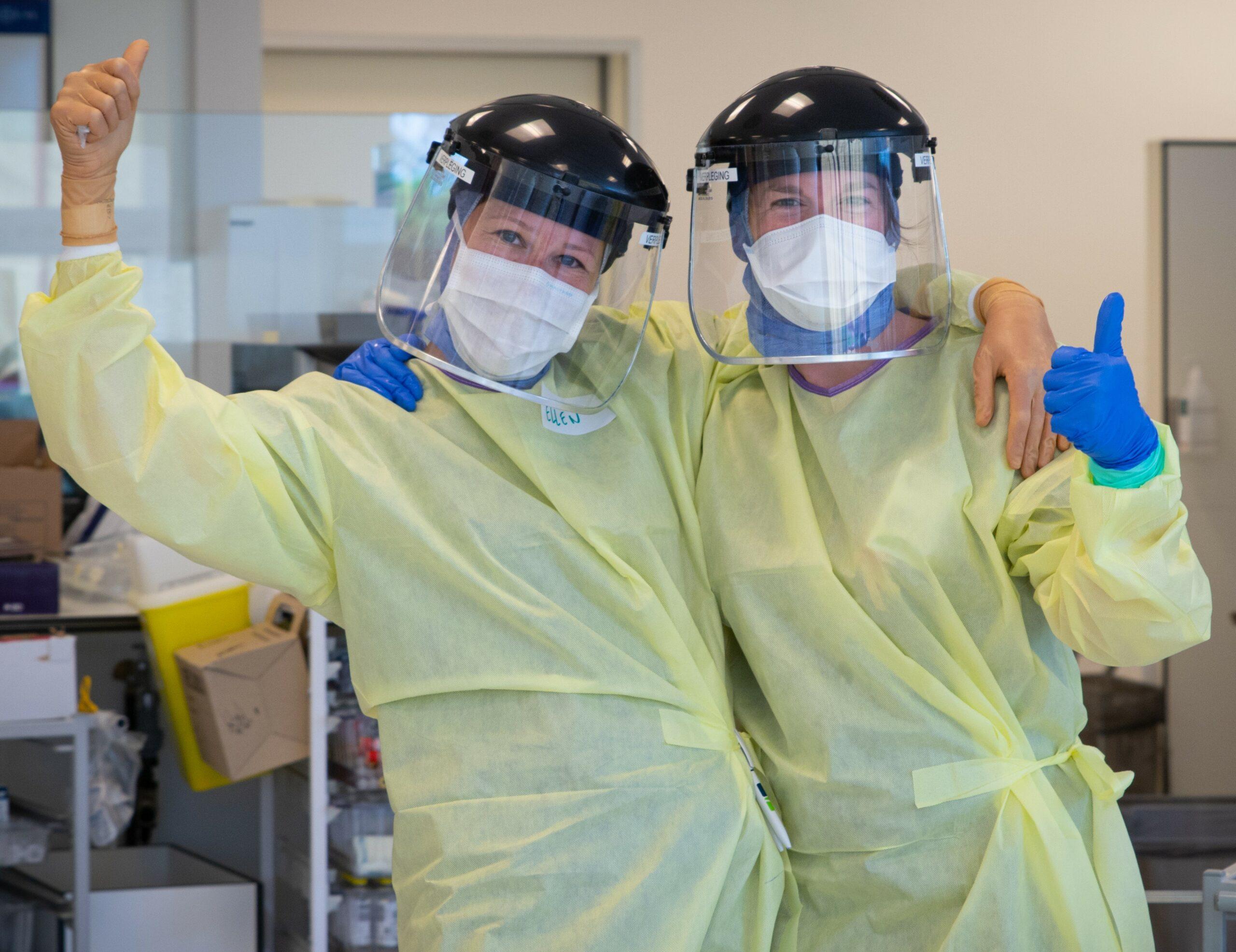 COVID-verpleegkundigen, AZ Sint-Blasius