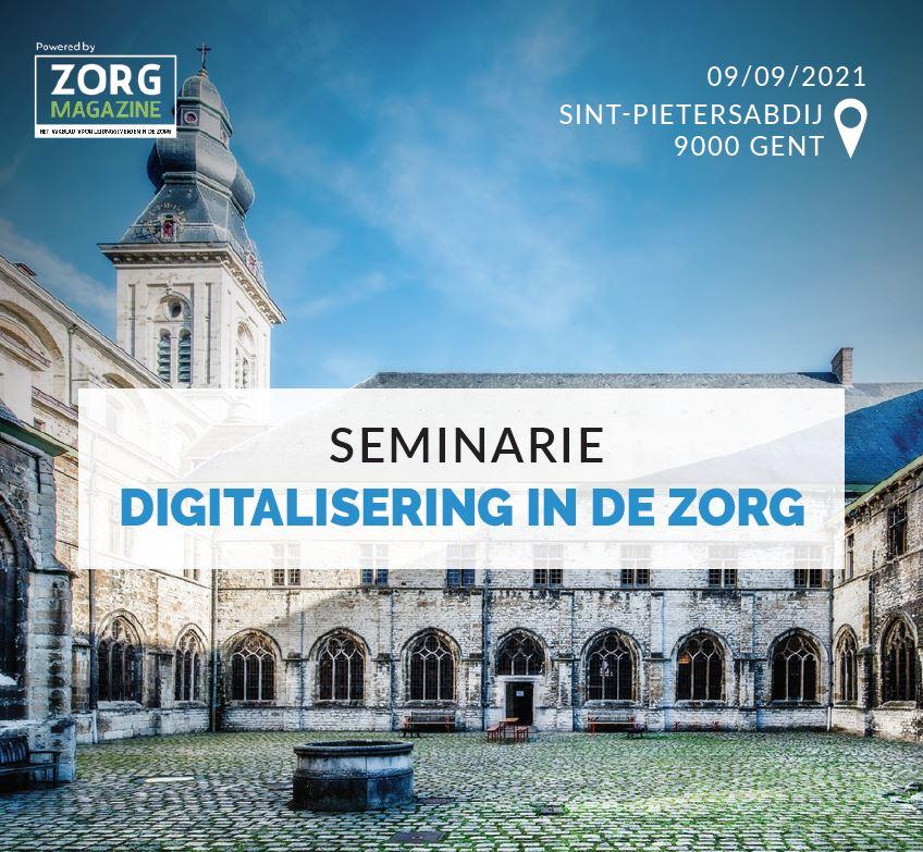 Seminarie Digitalisering in de zorg
