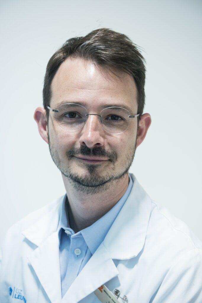prof. dr. Tim Vanuytsel © UZ Leuven