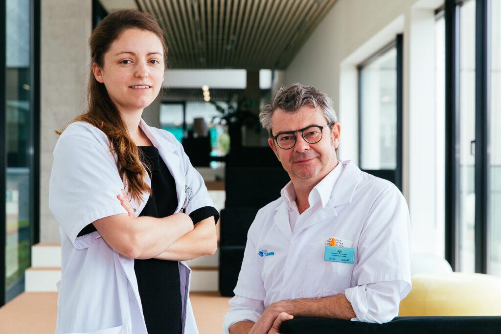 Dr. Charlien Berghen en prof. dr. Gert De Meerleer
