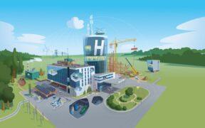 CO2 neutraal ziekenhuis Equans